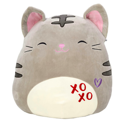 Limited Edition Kelly Toy Squishmallows 13 inch Oliver the Valentine Cat Super Soft Plush