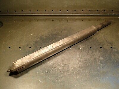 "AMEC Series D 25.5"" Deep Hole Spade Insert Drill Tool Holder: Morse Taper #4 4MT"