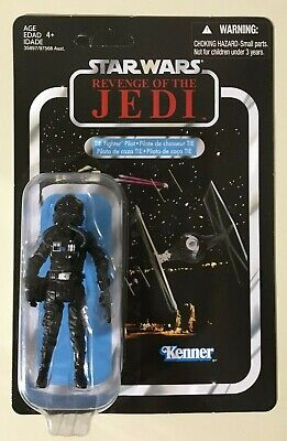 2011 SDCC Exclusive Star Wars Revenge of the Jedi Death Star Tie Fighter Pilot VC65 MOC Hasbro