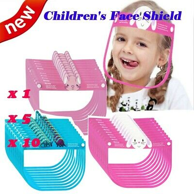 Child Safety Face Shield Clear Cover Tool Mask Anti-fog Eye Helmet Face Guard US