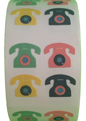 """each sticker 1.00/"""" RF0403 400 Chick Stickers in roll of 100 modules 2/"""" x 2/"""""""