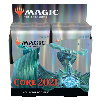 Magic Collector Booster Box Core Set 2021 (English)