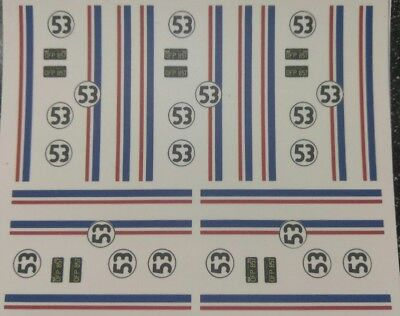 1:43 1:64 1:24 1:18 Checkerboard 50s Small 1//8th inch size squares HO scale