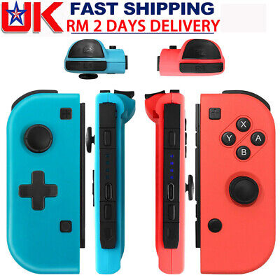 Left + Right Joy-Con Game Controllers Gamepad Joypad for Nintendo Switch Console
