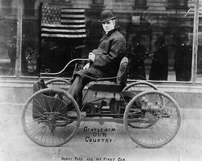 Henry Ford Automotive and Industrial Pioneer 8x10 Photo J-40