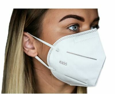 5 PACK KN95 Face Mask Disposable 5 Layers Anti Virus Infection Certified