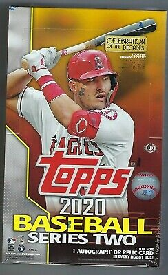 2020 Topps Series 2 Baseball Hobby Box 24 Packs + 1 Silver Pack FACTORY SEALED