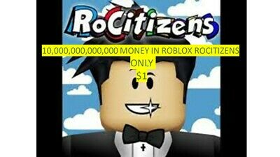 Roblox Rocitizens Account With 100 Trillion Money