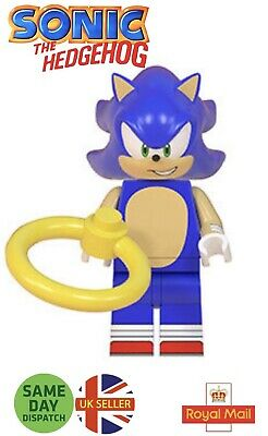 Sonic The Hedgehog Mini Figure Shadow Mk2 Black Sonic Green Hill Zone Uk Seller 3 49 Picclick Uk
