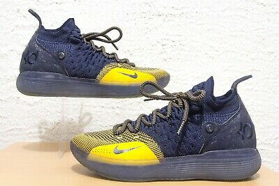 NIKE ZOOM KD 11 Mens Size 7 Chinese Zodiac Navy Gold Kevin