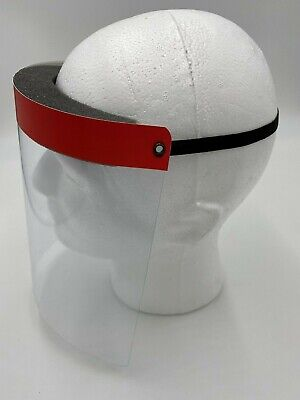 Red Face Shields Clear Protector, Made in USA