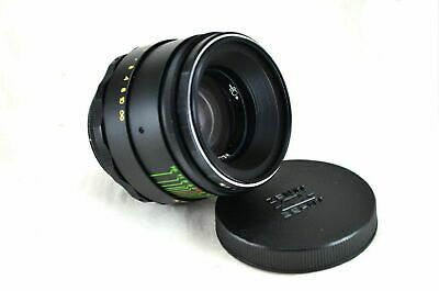 HELIOS 44-2 F2 58MM VINTAGE LENS M42 USSR with adapter CANON, NIKON, Sony