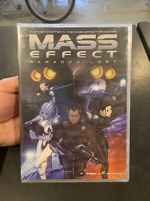 Mass Effect Paragon Lost Anime On Dvd From Funimation 8 00