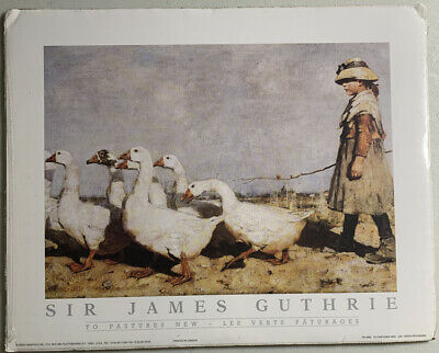 To Pastures New J Guthrie Medici Print