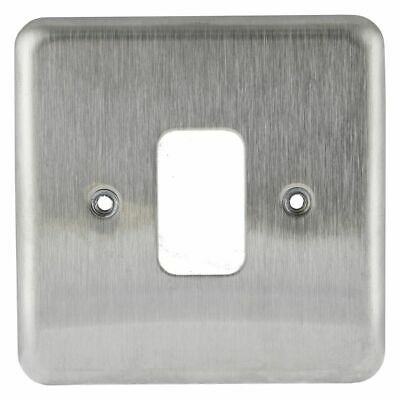 Brand New Sealed MK 1G Moulded Frontplate For Light Switch K3491ALM