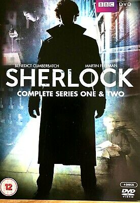 DVD Sherlock Holmes - Complete Series One & Two NEW&SEALED