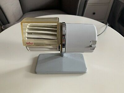 Vintage Braun HL1 C Fan Tested and Working