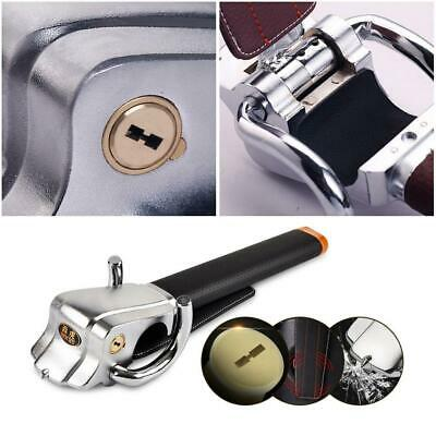 Universal Car Steering Wheel Lock Security Rotary Antitheft Locking Devices
