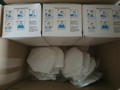 Safety Kit Ppe 3 X 50 Single Use Protecters Plus 12 Reusable Protectors