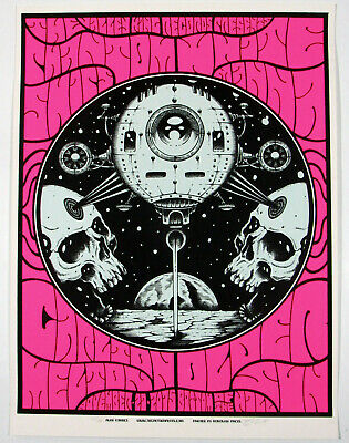 SWANS San Francisco 2016 silkscreened poster by Alan Forbes edition of 80