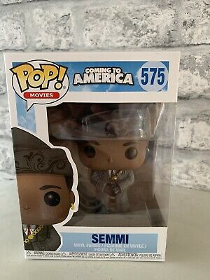 Funko Pop Movies  Vinyl Coming To America 575 Semmi Figure Boxed