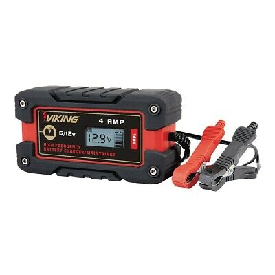 MotoMaster Nautilus Battery Charger with Microprocessor 12V 2A//10A