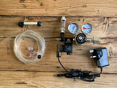 CO2 Supermarket - Dual Stage Co2 Regulator System