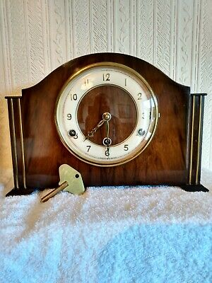 Perivale, Westminster Chimes Mantel Clock,  Serviced and fully working