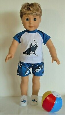 "Michigan State t-shirt pants MSU pj/'s fit 18/"" American Girl Doll or boy Logan"