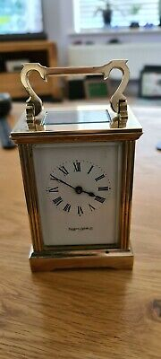 Vintage Carriage Clock Mappin & Webb Great Condition.. keeps excellent time