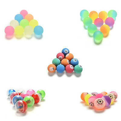 10-50 Pcs Bouncy Jet Balls Birthday Party Loot Bag Toy  Fillers Fun For Kids  BE