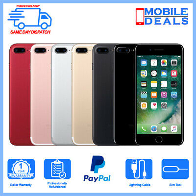 Apple iPhone 7 Plus 32GB 128GB 256GB Unlocked Smartphone All Grades and Colours