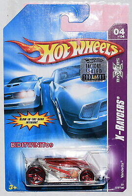 5 Pack Mattel HOT WHEELS X-Raycers™ 2018 Five Die-Cast Toy Cars FKT65