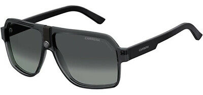 Carrera Men's Gray/Black Navigator Sunglasses w/ Gradient Lens - CA33S 0R6S 9O