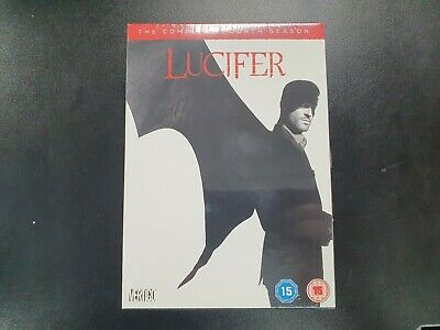 Lucifer The Complete Fourth Season (Series 4) - DVD - UK - Brand New & Sealed