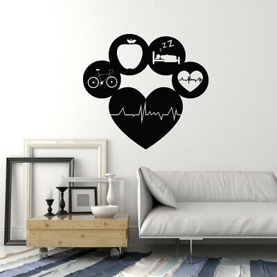 Vinyl Wall Decal Sports Healthy Muscle Woman Gym Fitness Stickers Mural g3450