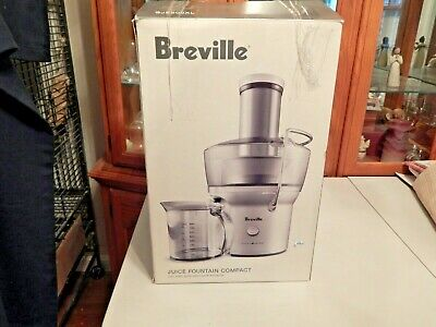 Breville BJE200XL Compact Juice Fountain Juicer Extractor