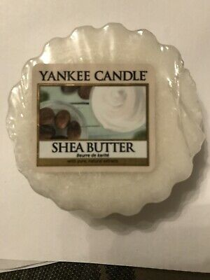 Yankee Candle Wax melt/Tart  12 x Shea Butter New