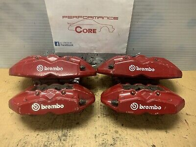 Brembo 4 Piston Rear Caliper Brake Mounting Bolts x 4 CTS-V Camaro ZL1 ZR1 Z06