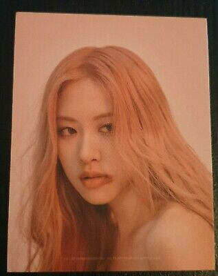 Blackpink Official Rose Puzzle Photocard Kill This Love