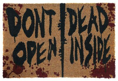 The Walking Dead Don't Open Dead Inside Unisex Zerbino multicolore, PVC,