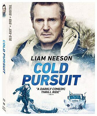 Cold Pursuit (BLU-RAY + DVD + DIGITAL) BRAND NEW + FREE SHIPPING