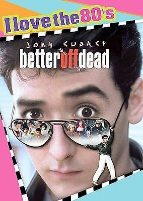 Better Off Dead  (DVD, 1985, I Love the 80's Edition) NEW Sealed