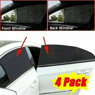 4Pcs/Set Car Window Sun Shade Shield Blocker Auto Cover Protector for Baby Kids