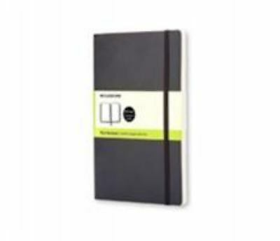 Moleskine (Cor)-Moleskine Classic Notebook - Large -  Plain - Black - S BOOK NEW