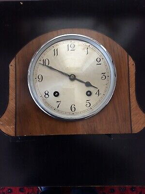 Vintage Garrard Retro Style Mantle Clock For Restoration
