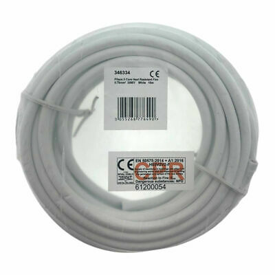 White 0.75mm 5 Core 3095Y H05V2V2-F Round Heat Resistant Flexible Cable flex