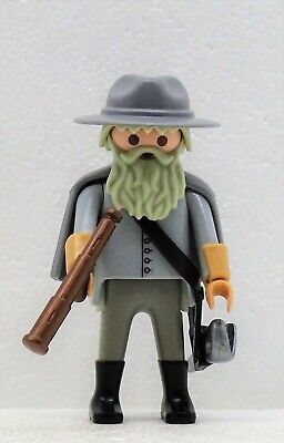 Playmobil Acw Hat Head Piece Hats Cavalry Yankee Southerner Fort