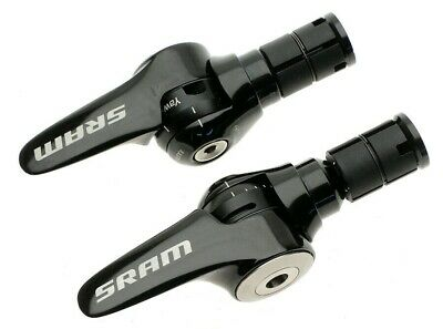 FSA Vision Metron 10-Speed Road Aero TT Shifters with Cables Black