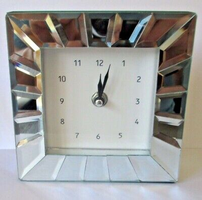 Mirrored Mantle Clock